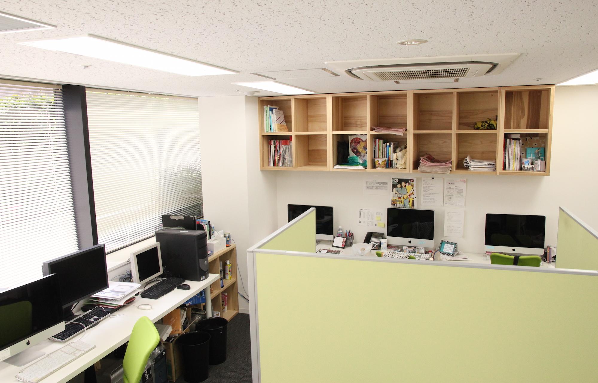 株式会社スクワッド Work Space_2 デザイン・レイアウト事例