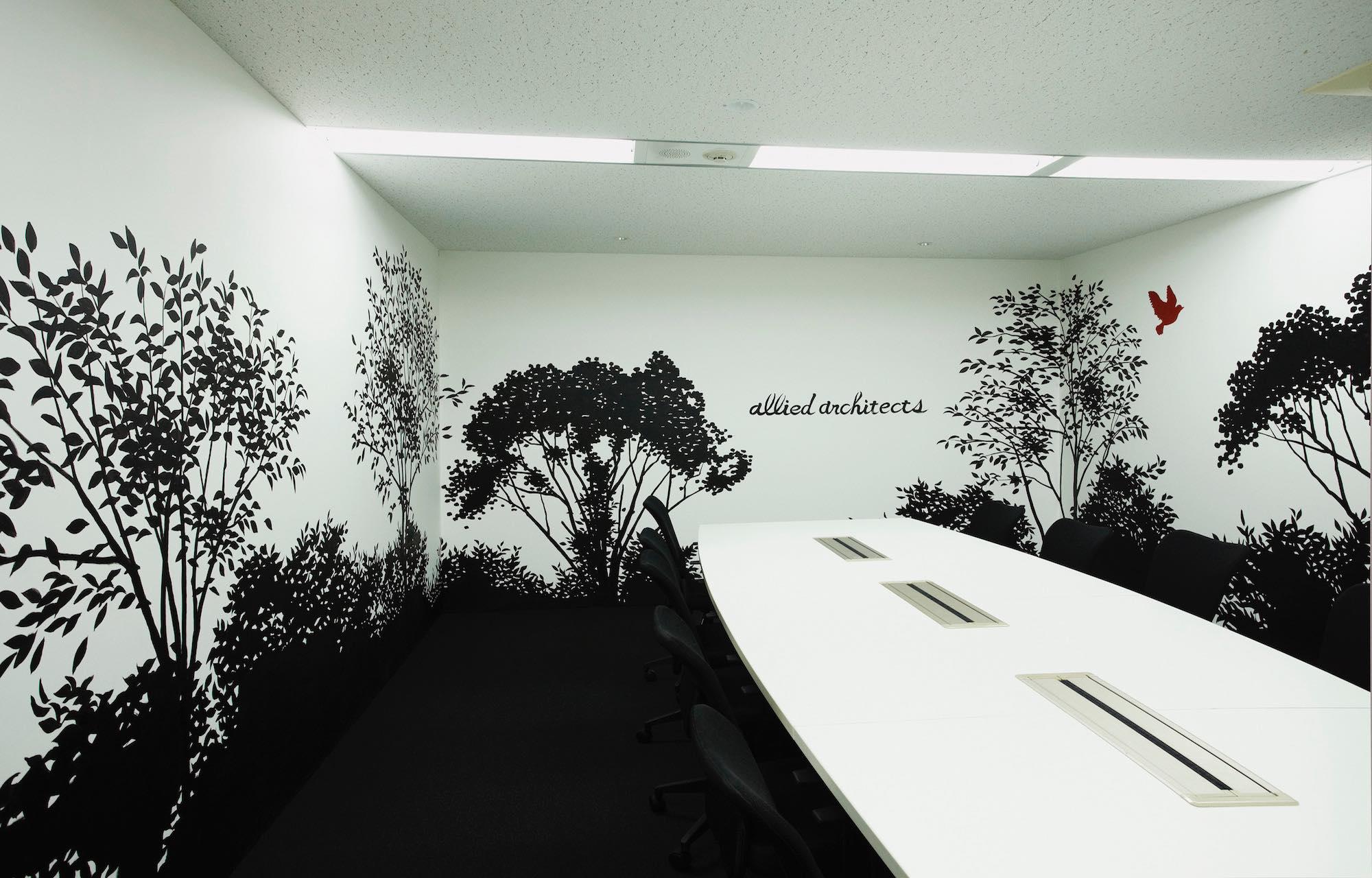 アライドアーキテクツ株式会社 Meeting Room デザイン・レイアウト事例