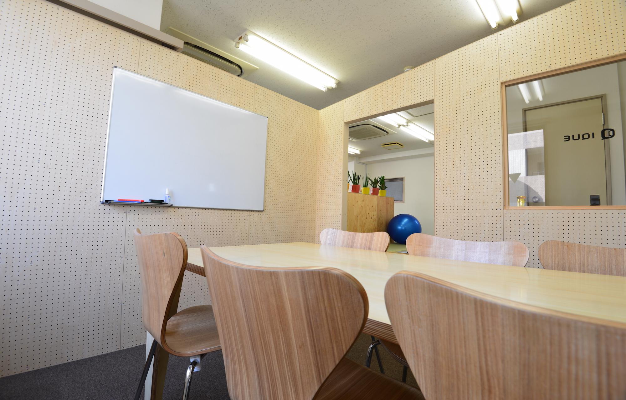 アイキュー株式会社 Meeting Space デザイン・レイアウト事例