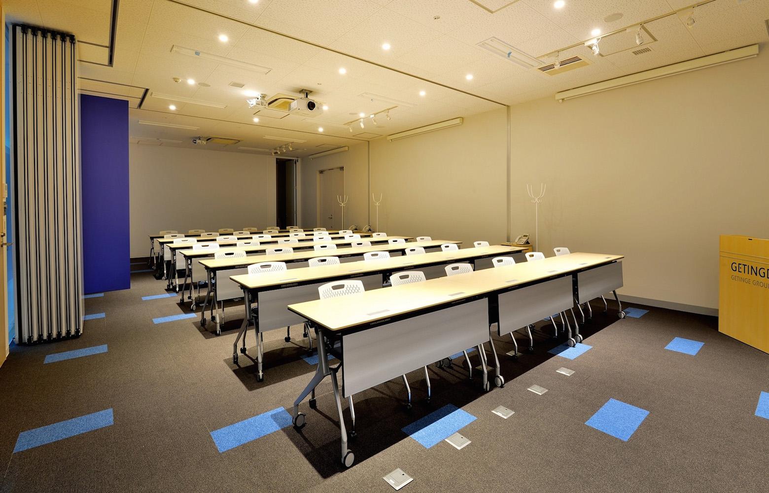 ゲティンゲ・ジャパン株式会社 Seminar Room デザイン・レイアウト事例