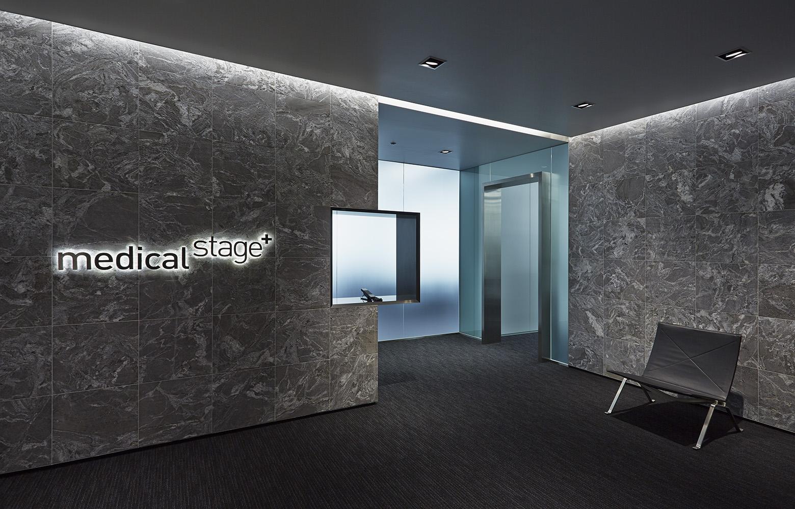 株式会社メディカル・ステージ Entrance_2 デザイン・レイアウト事例