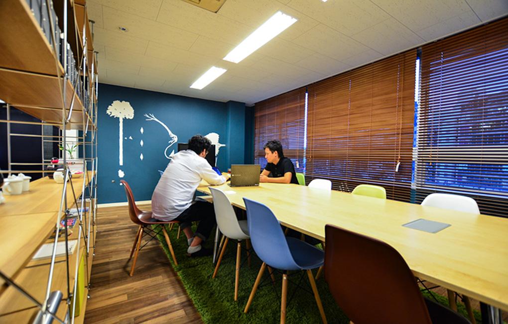 株式会社シルシ Meeting Space_2 デザイン・レイアウト事例