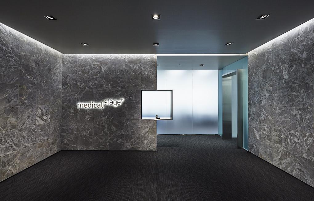 株式会社メディカル・ステージ Entrance デザイン・レイアウト事例