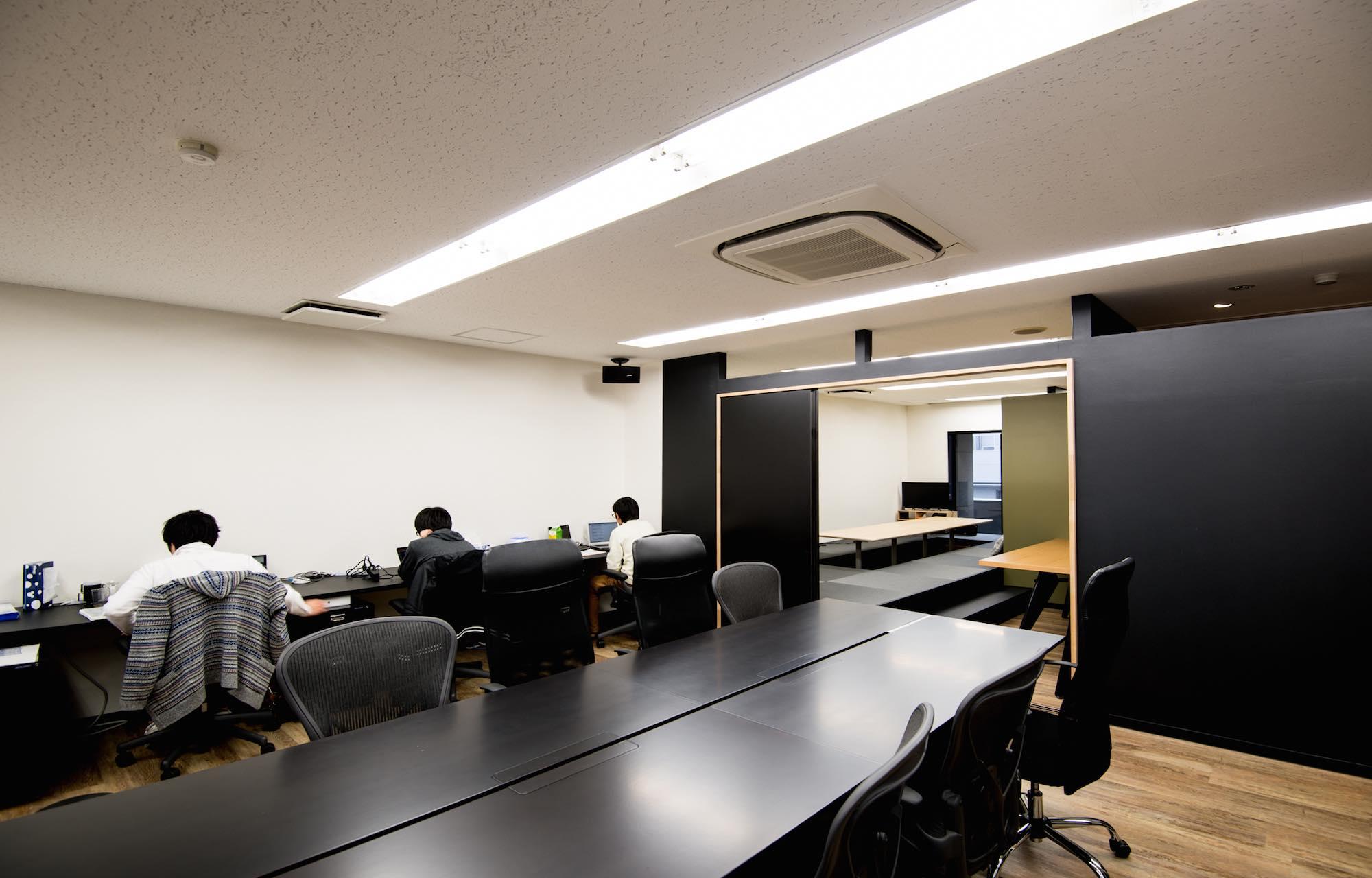 株式会社アンダーチュア Work Space_2 デザイン・レイアウト事例