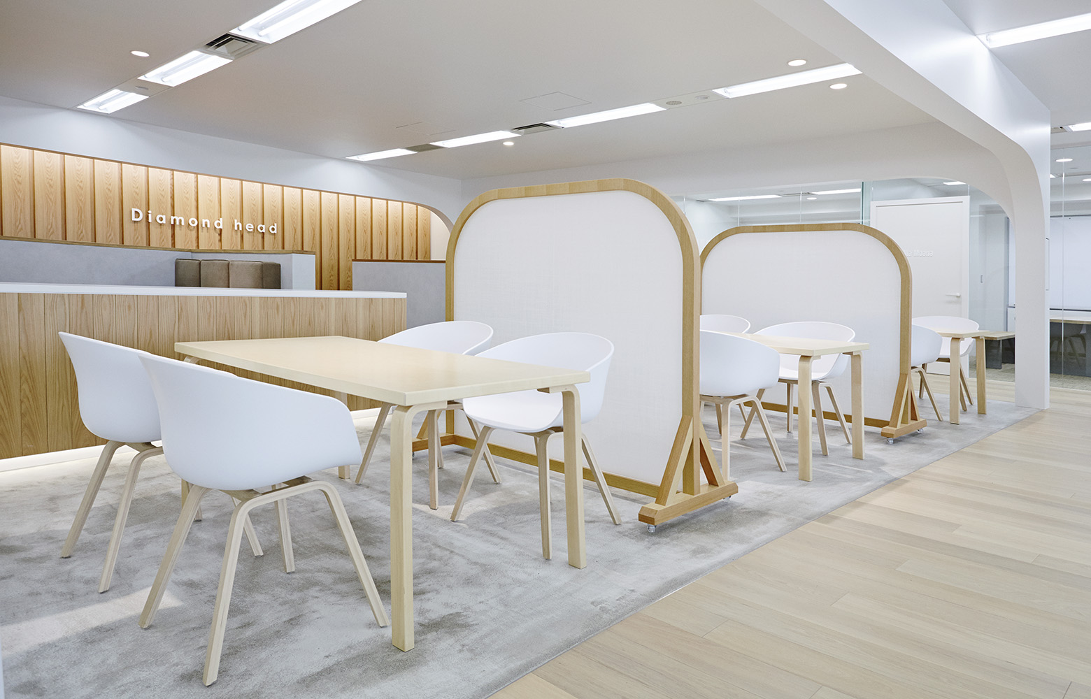 ダイアモンドヘッド株式会社 Tokyo Office Meeting Space_4 デザイン・レイアウト事例