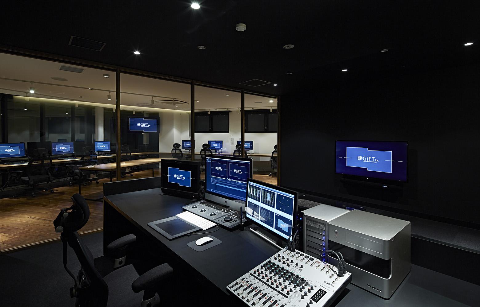 株式会社ギフト Studio_2 デザイン・レイアウト事例