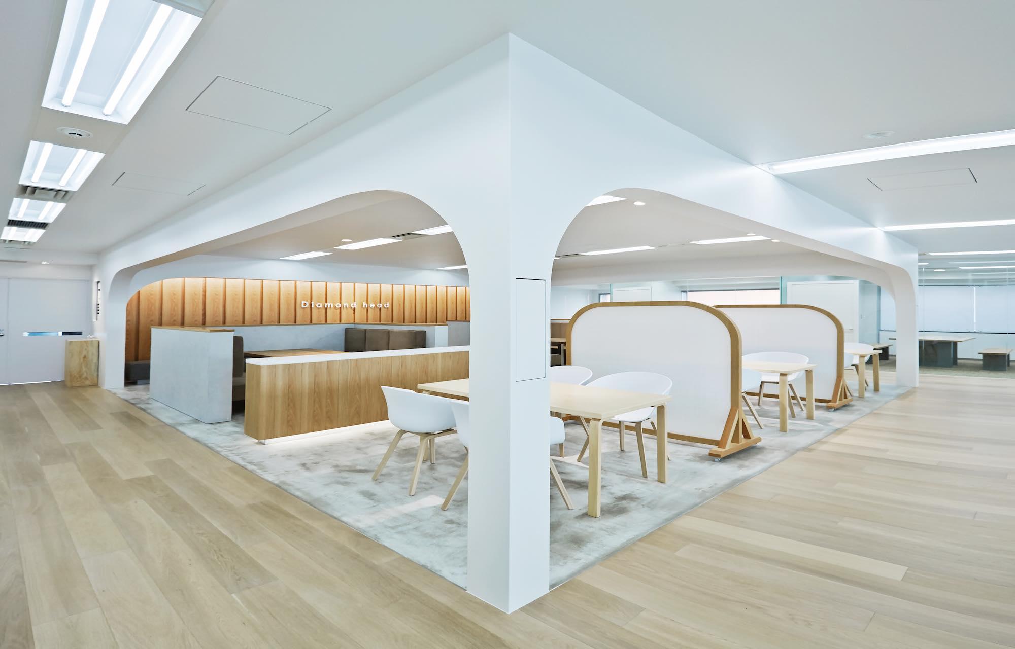 ダイアモンドヘッド株式会社 Tokyo Office Meeting Space デザイン・レイアウト事例