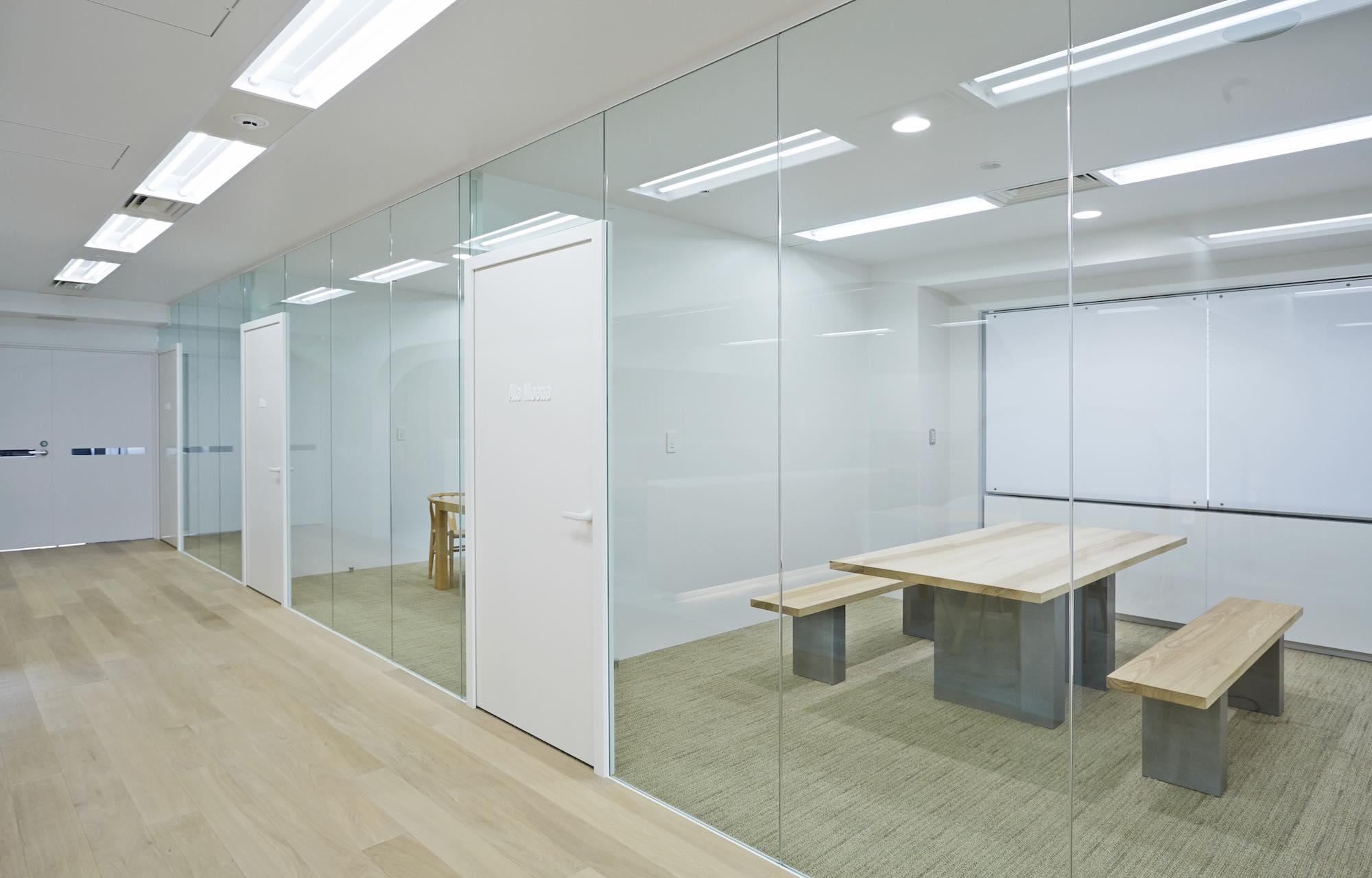 ダイアモンドヘッド株式会社 Tokyo Office Meeting Room_2 デザイン・レイアウト事例