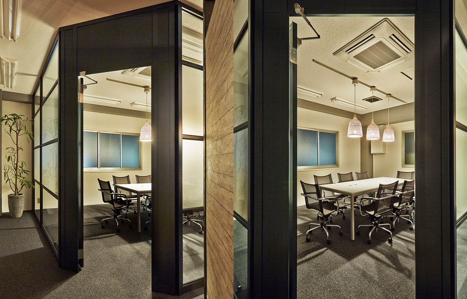 株式会社ウィット Meeting Room Door デザイン・レイアウト事例