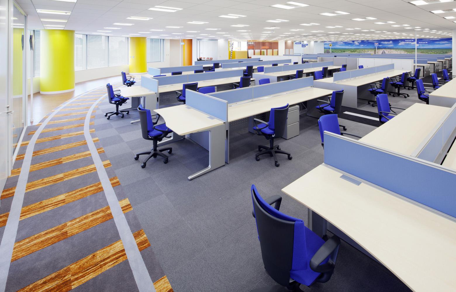 KLab株式会社 Work Space_2 デザイン・レイアウト事例