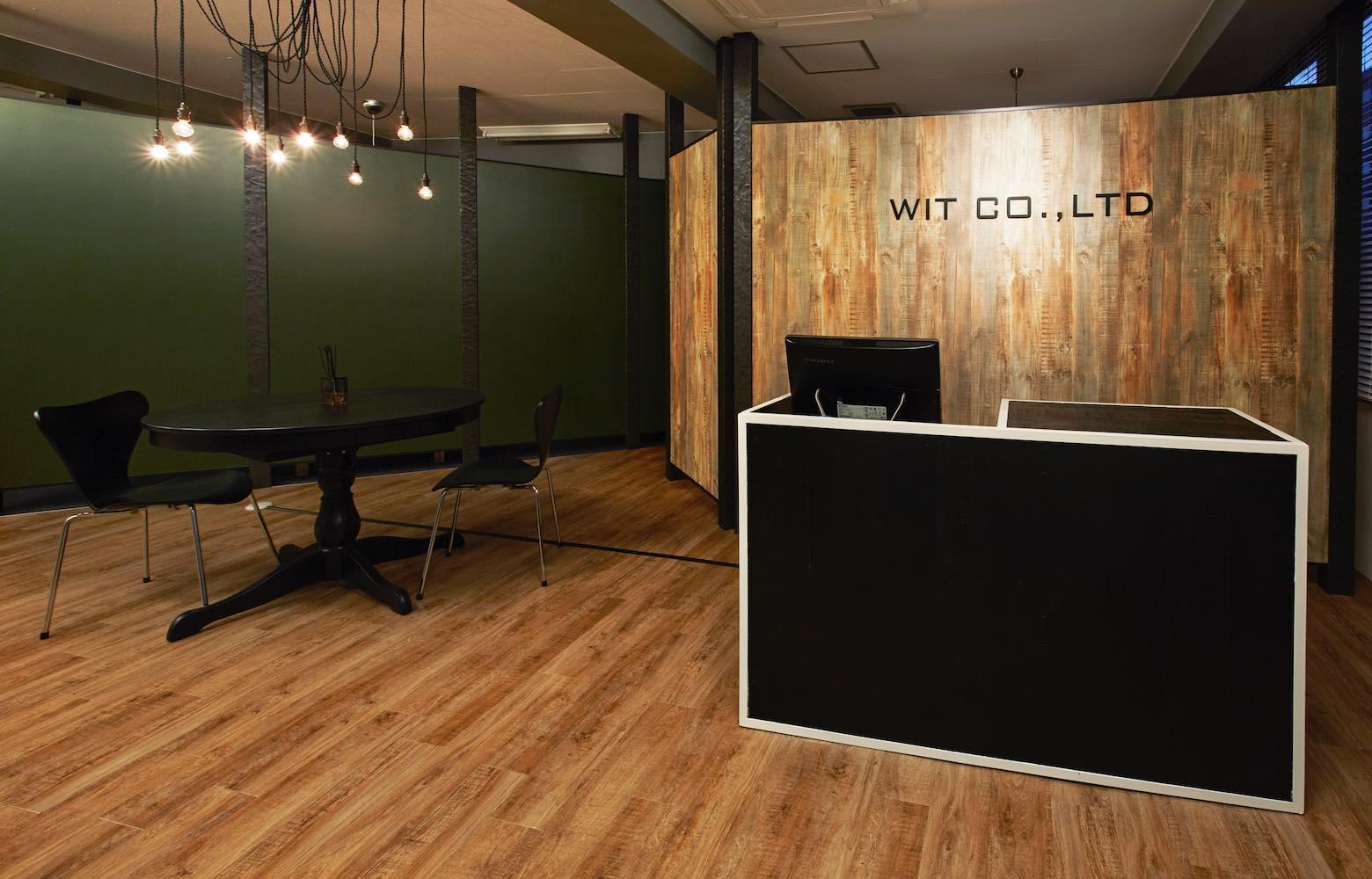 株式会社ウィット Entrance デザイン・レイアウト事例