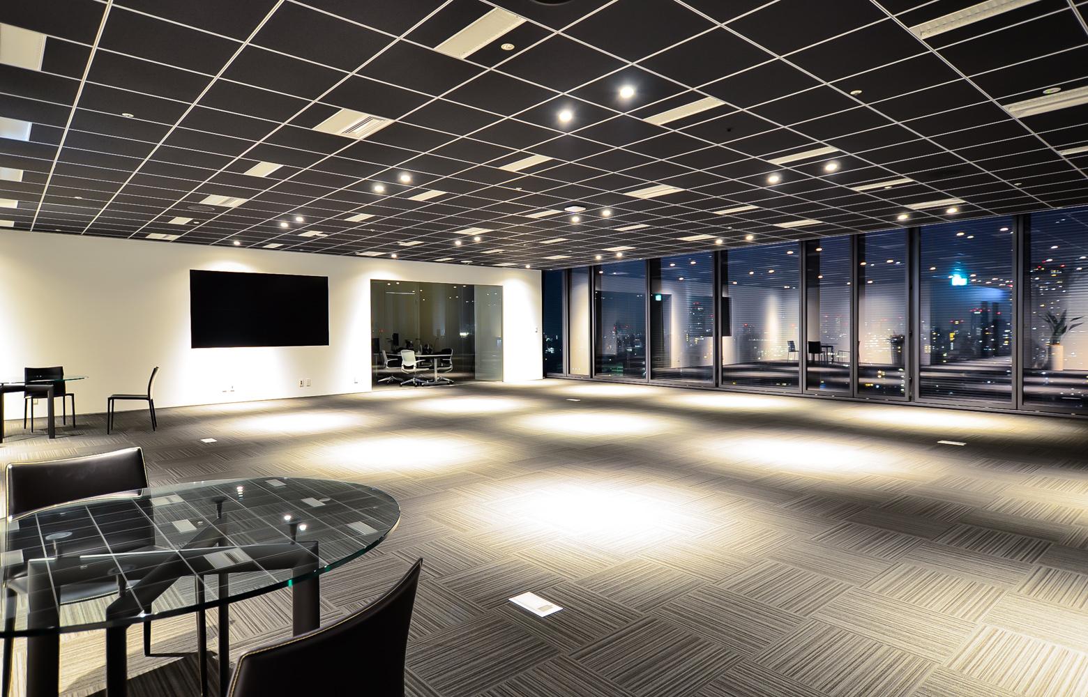 アプリックスIPホールディングス Lounge デザイン・レイアウト事例