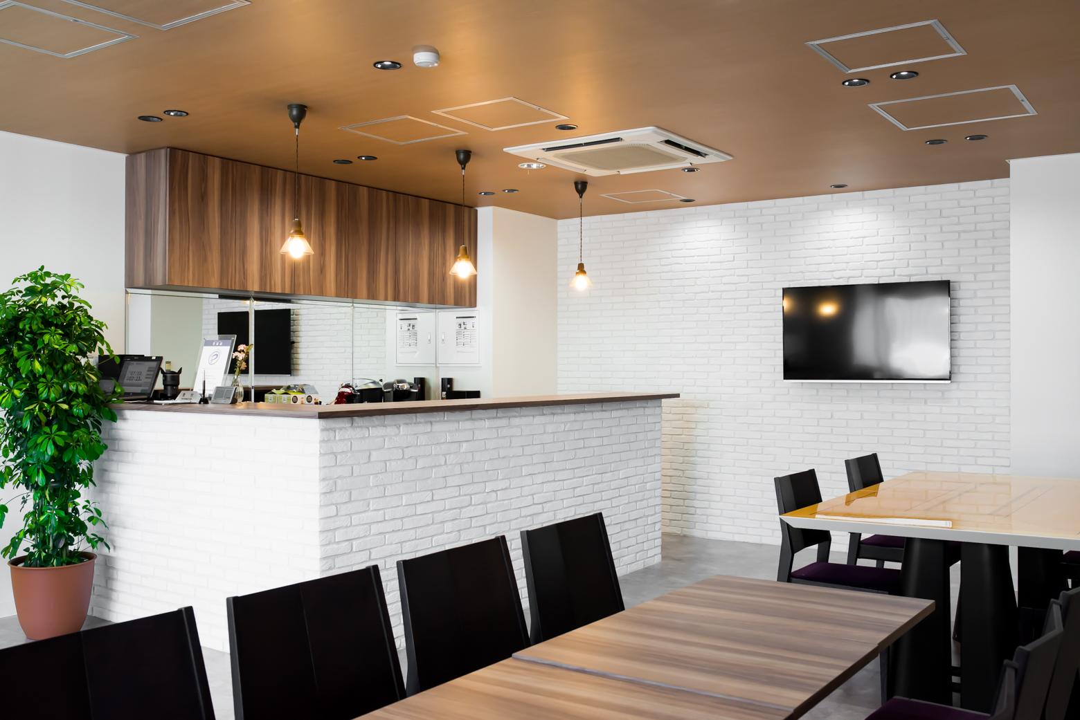 株式会社クレイス Cafe Area_2 デザイン・レイアウト事例