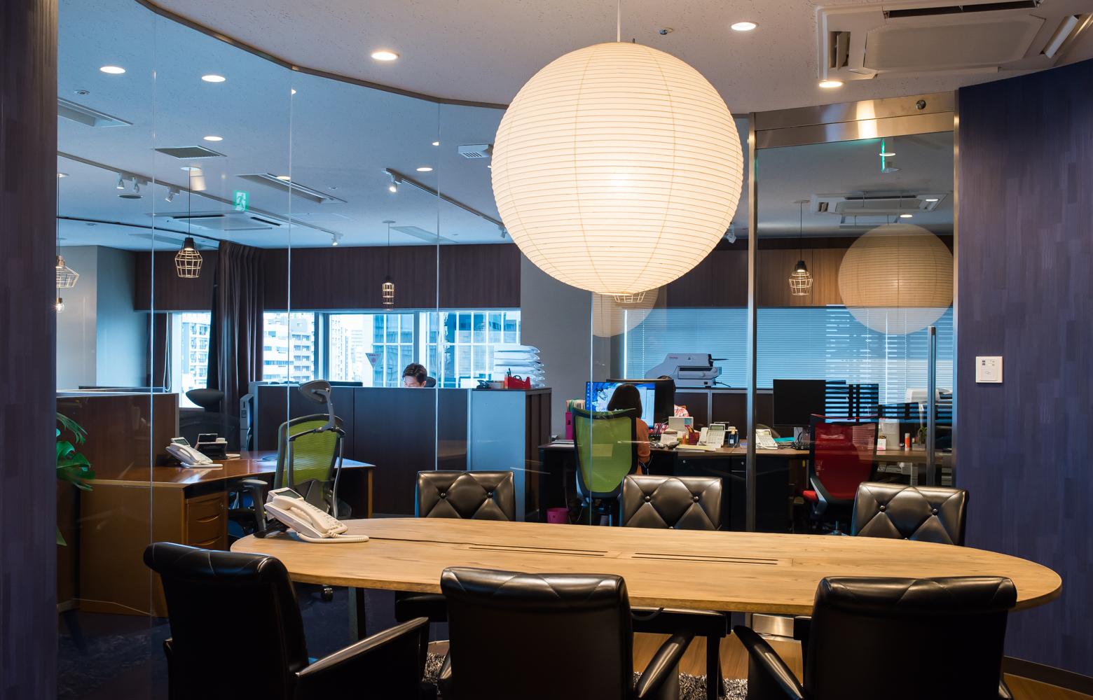 株式会社ファーストアクセス Meeting Room_2 デザイン・レイアウト事例