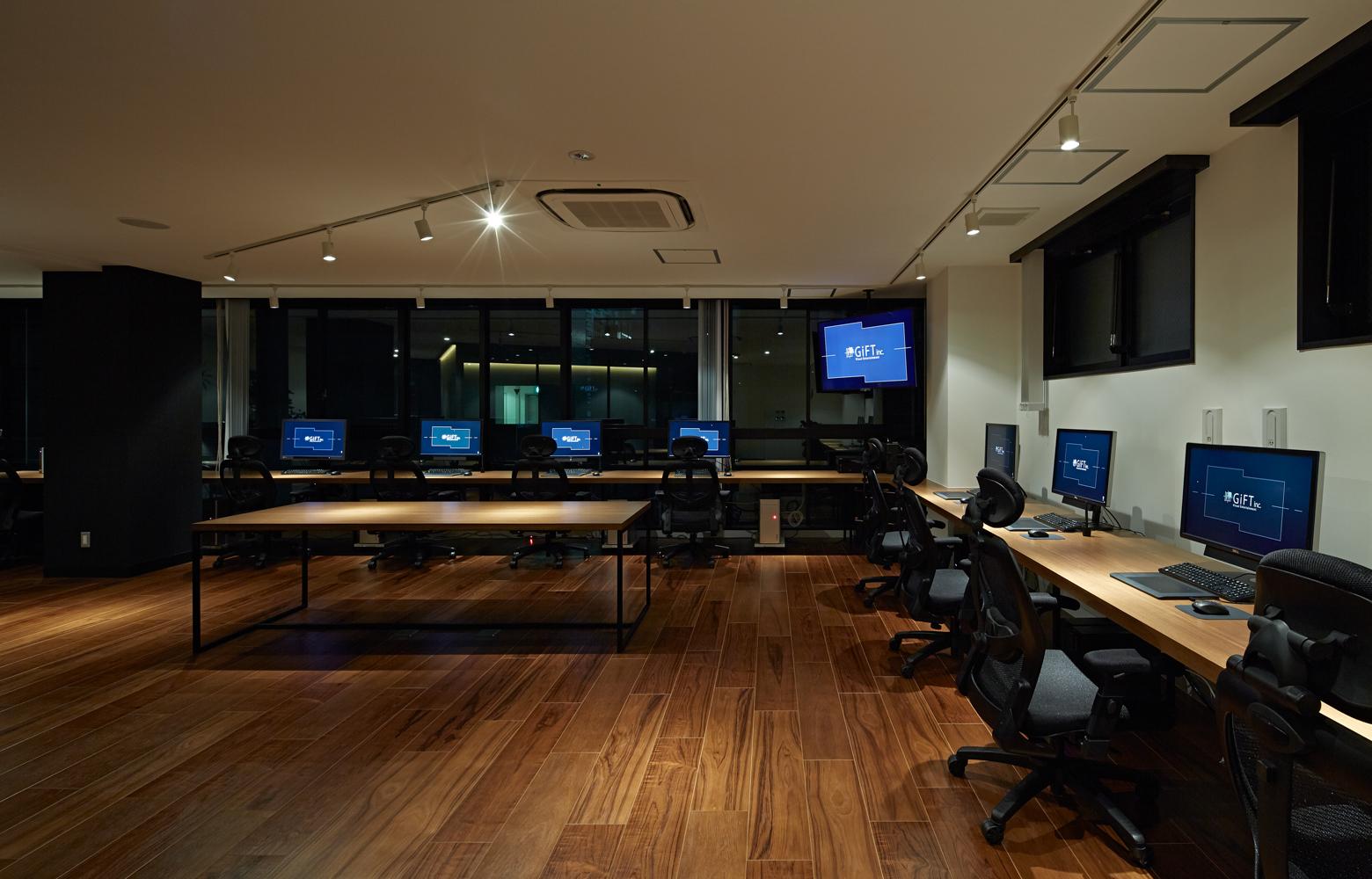 株式会社ギフト Work Space_2 デザイン・レイアウト事例