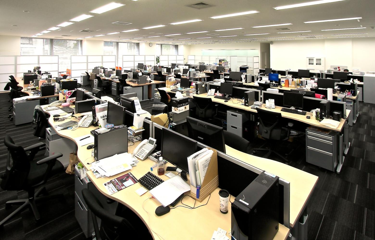 EMTG株式会社 Work Space デザイン・レイアウト事例