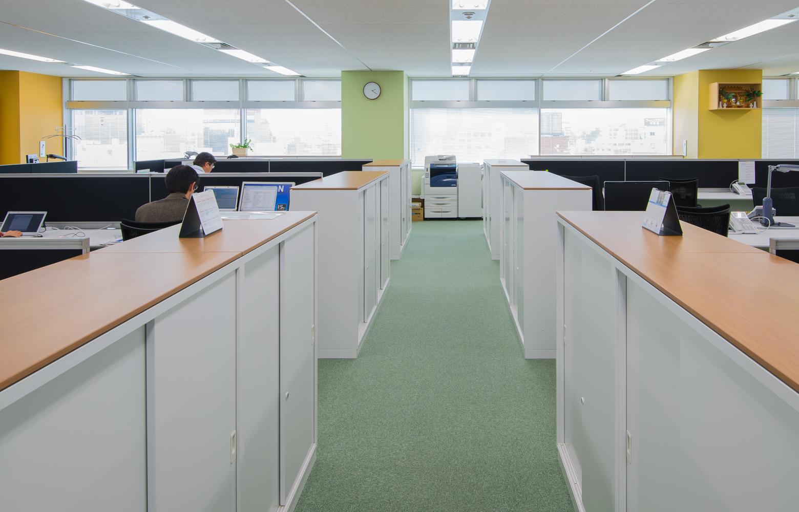 株式会社かいはつマネジメント・コンサルティング Work Space デザイン・レイアウト事例