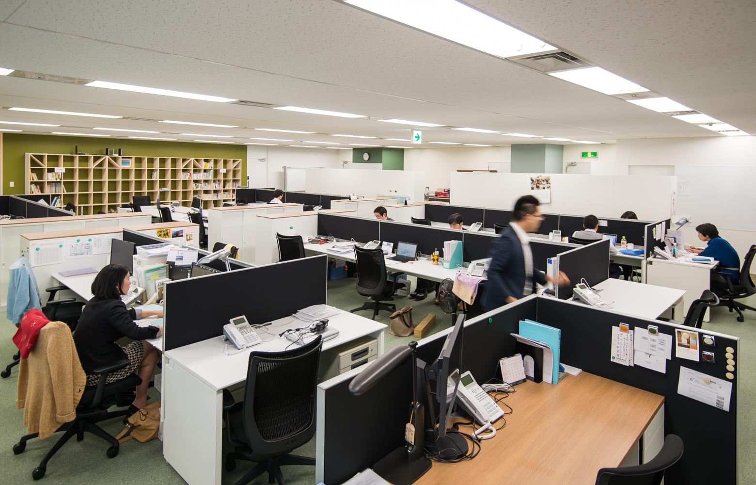 株式会社かいはつマネジメント・コンサルティング Work Space_2 デザイン・レイアウト事例