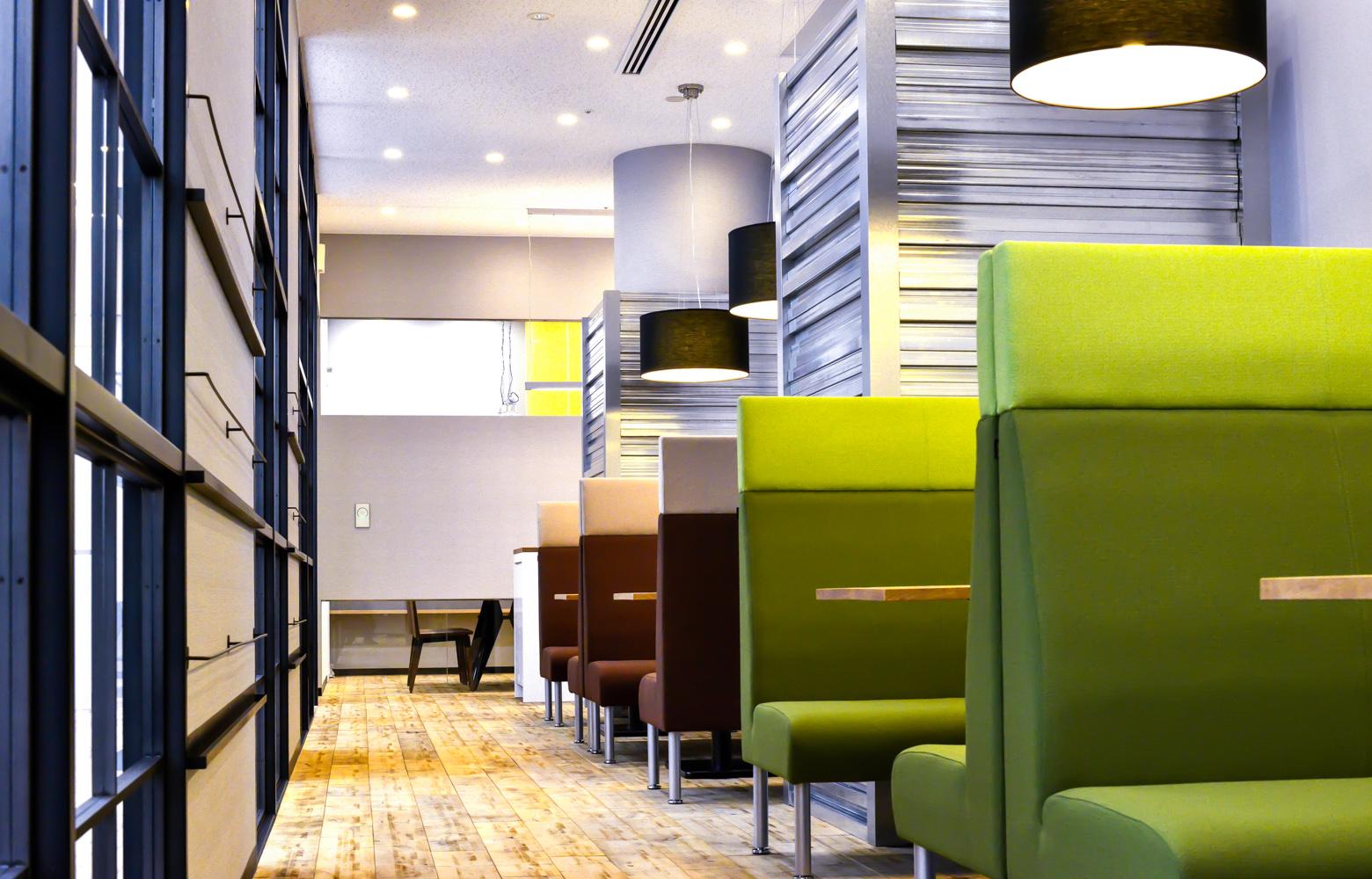 株式会社マイクロアド Work Lounge デザイン・レイアウト事例