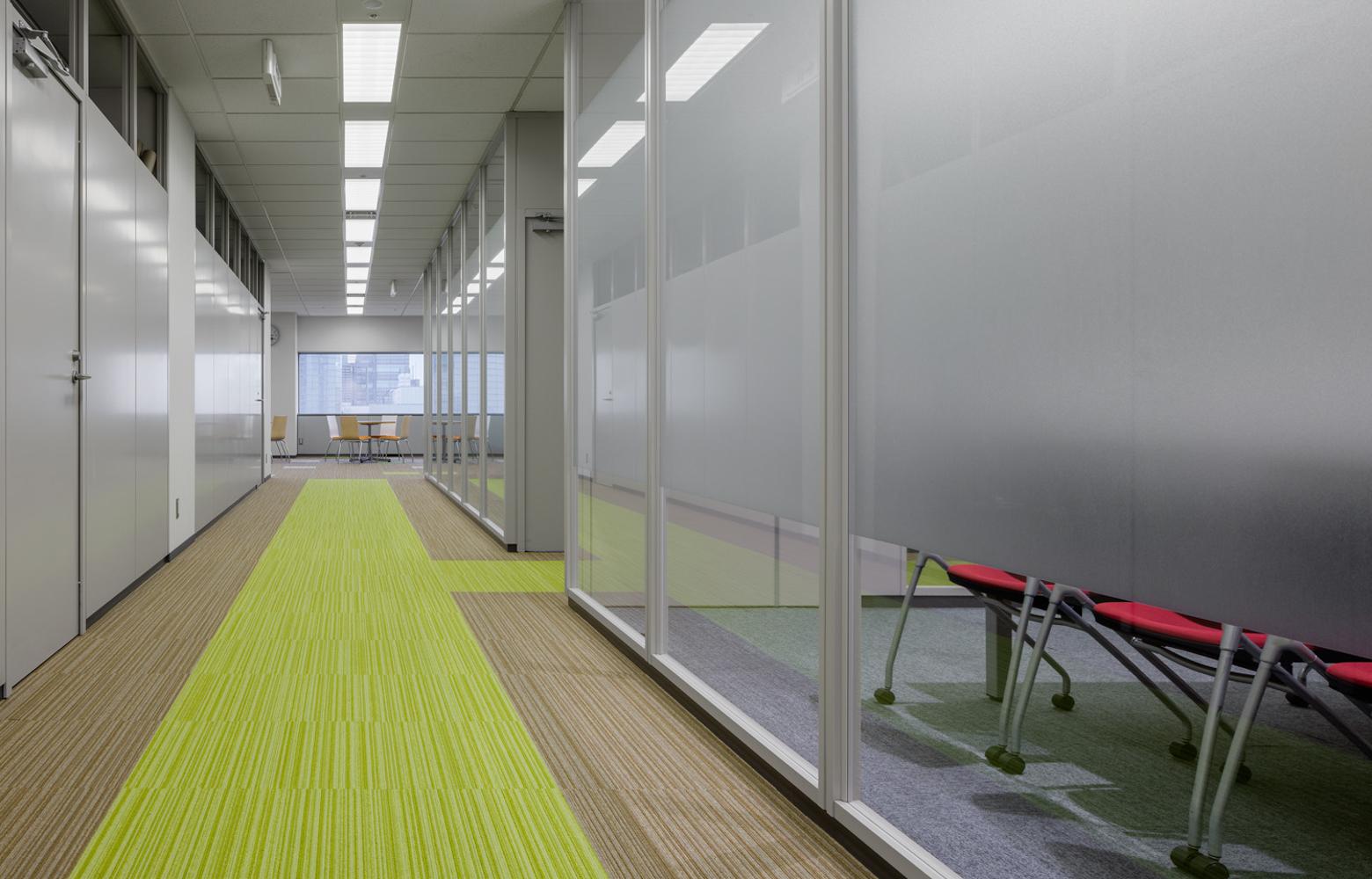 三井金属エンジニアリング株式会社 Corridor デザイン・レイアウト事例