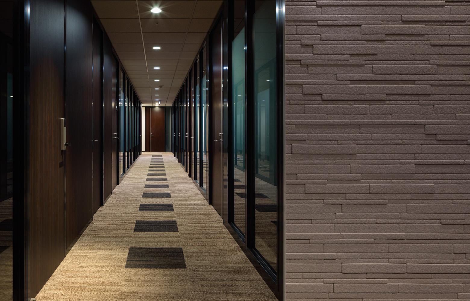 三井金属エンジニアリング株式会社 Corridor_2 デザイン・レイアウト事例