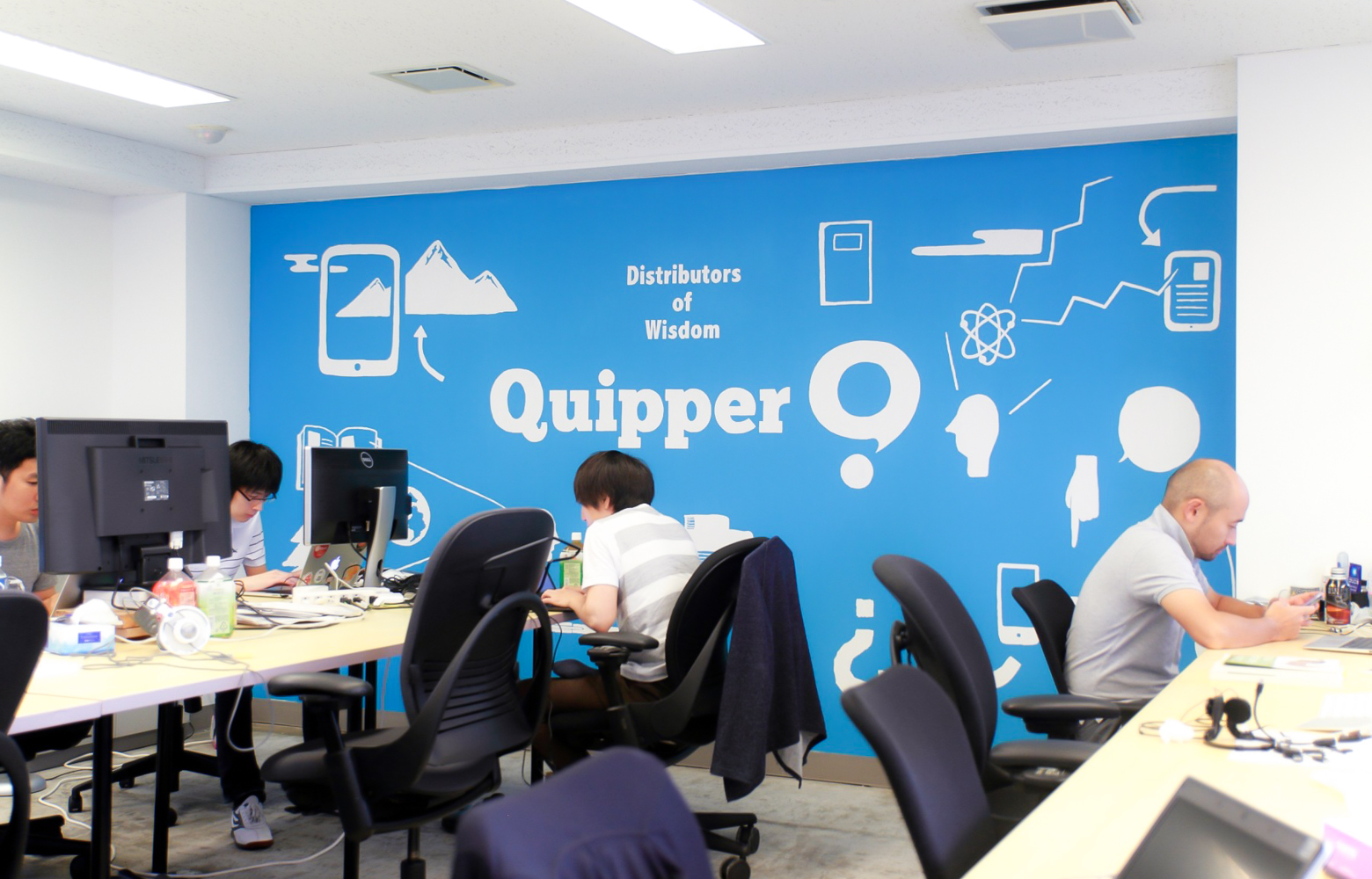 Quipper Ltd Japan Branch Office Graphic デザイン・レイアウト事例