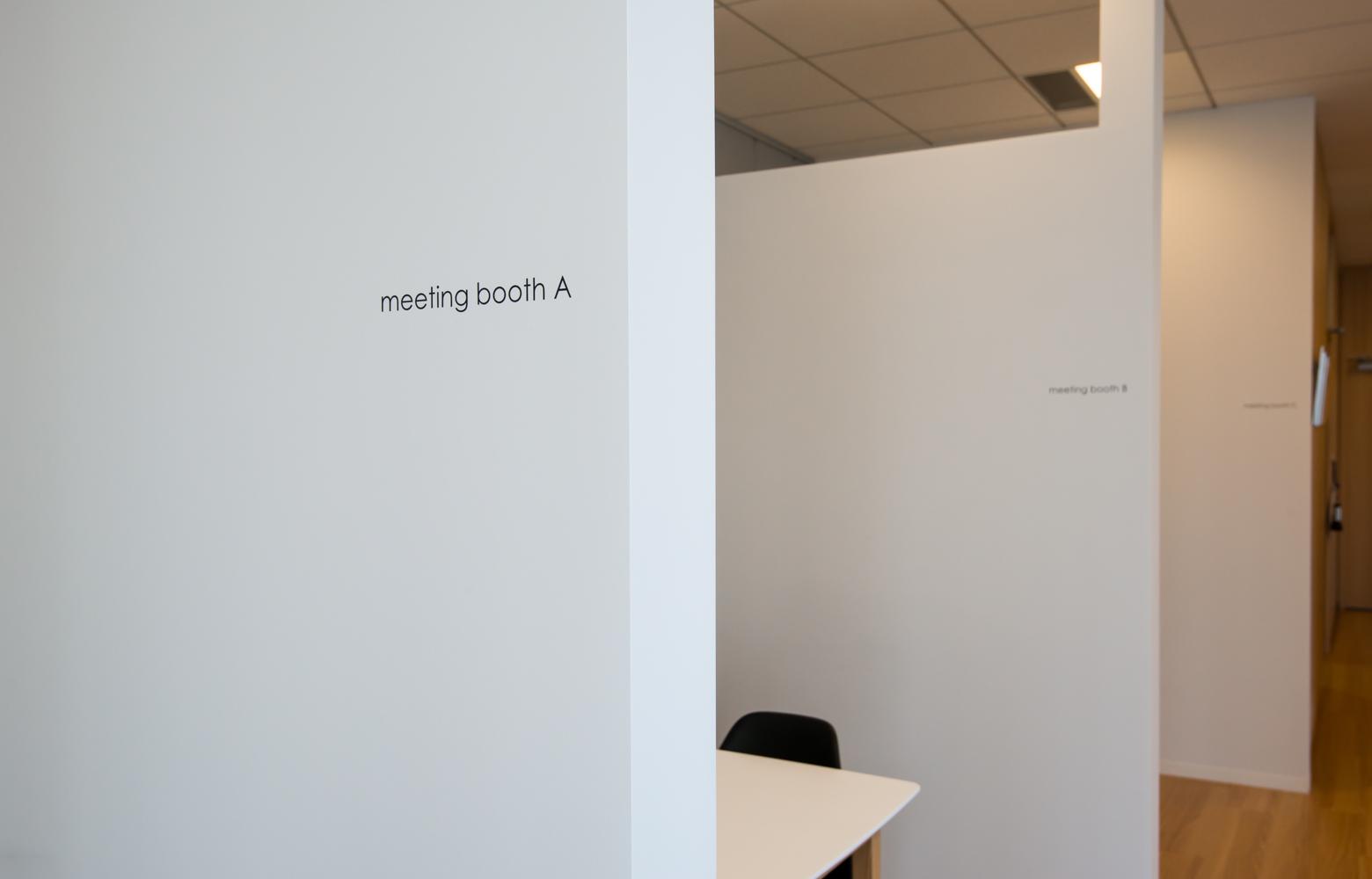 サンテックパワージャパン株式会社 Meeting booth_3 デザイン・レイアウト事例