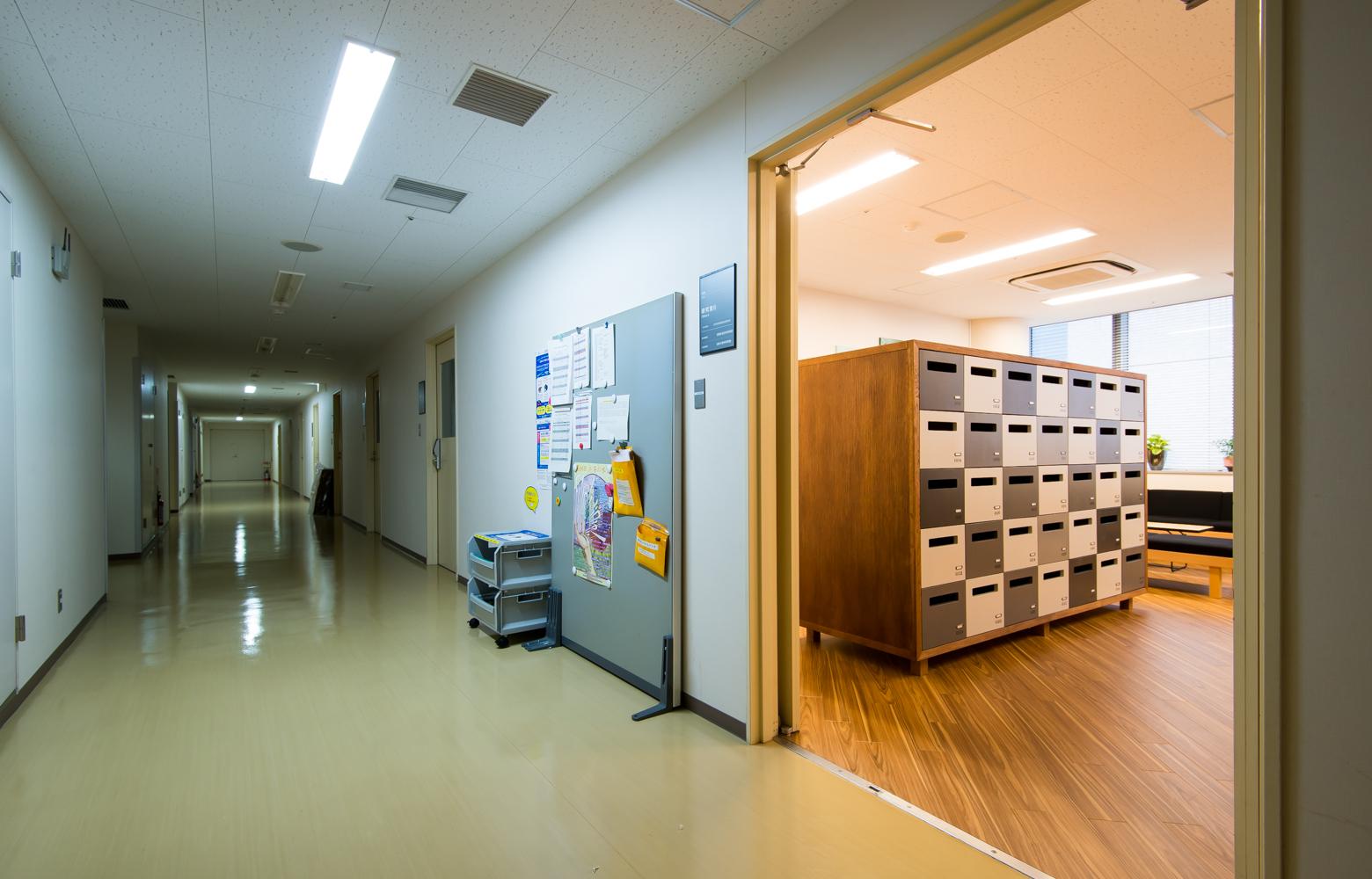 東京医科歯科大学 Entrance デザイン・レイアウト事例