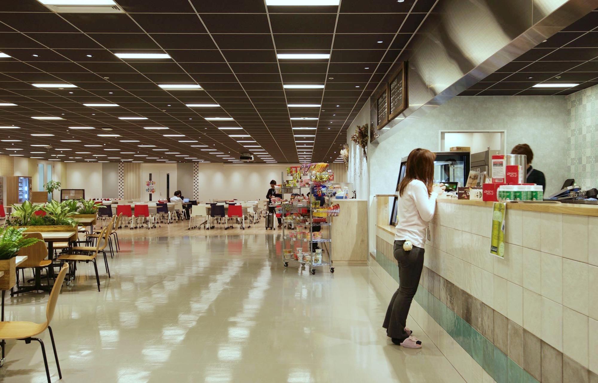 NHN テコラス株式会社 Cafe Corner デザイン・レイアウト事例