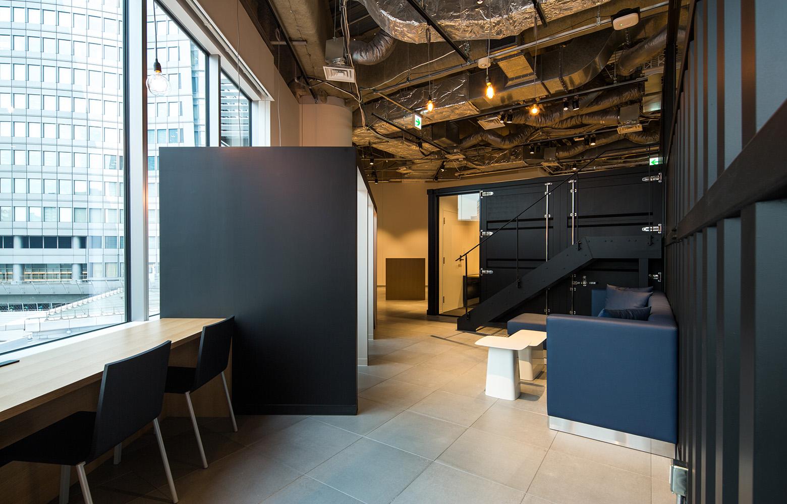 KLab株式会社 ( Laboratory Office )フリースペース《リフレッシュ・多目的エリア》