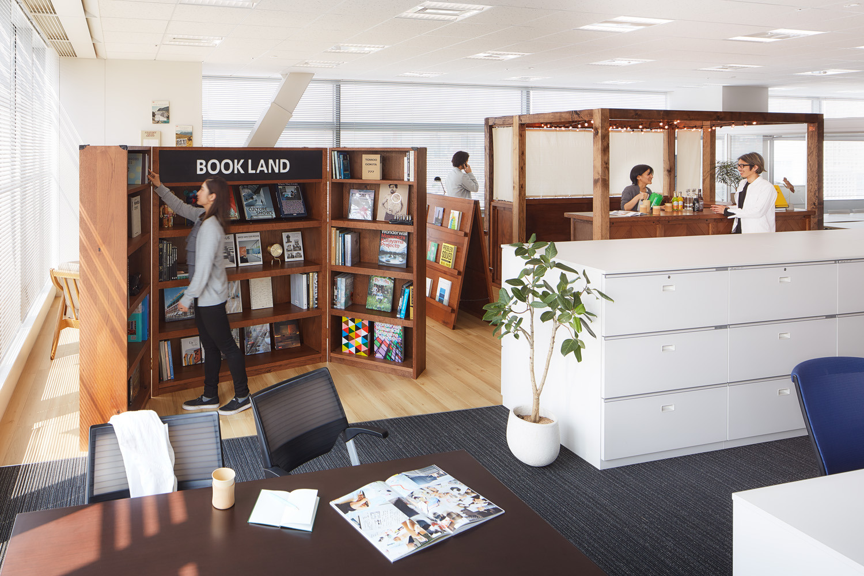 日本クロージャー株式会社フリースペース《リフレッシュ・多目的エリア》