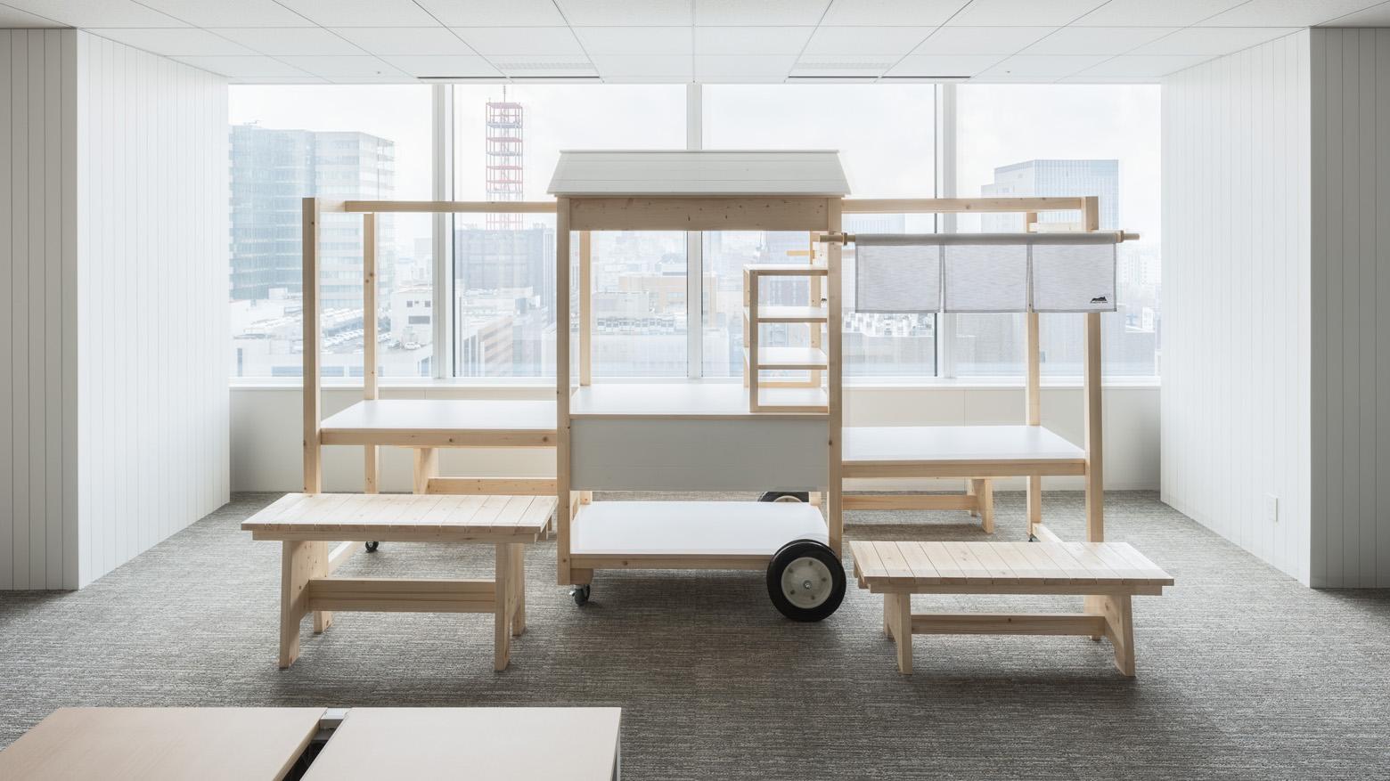 ダイアモンドヘッド株式会社 Sapporo Officeオーダー家具・造作家具