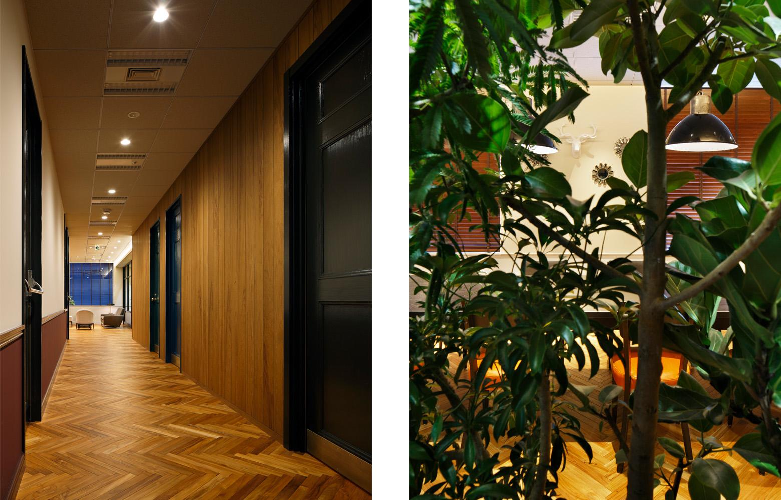 株式会社日本エスコン Corridor & Green デザイン・レイアウト事例