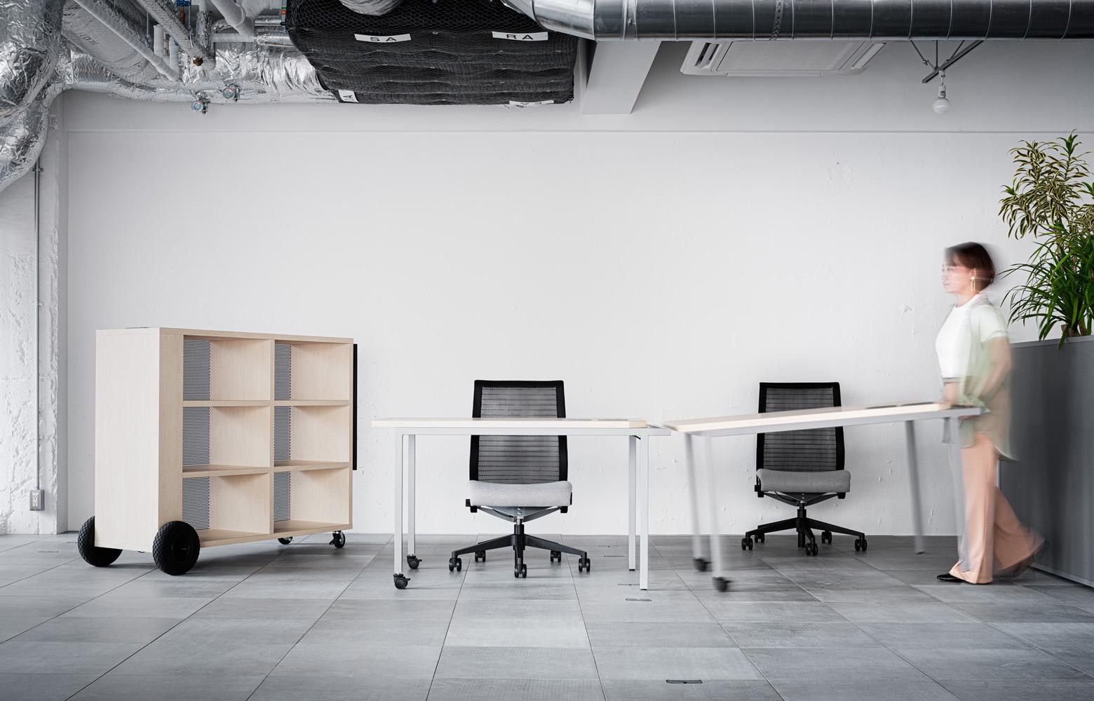 トヨタコネクティッド株式会社オーダー家具・造作家具