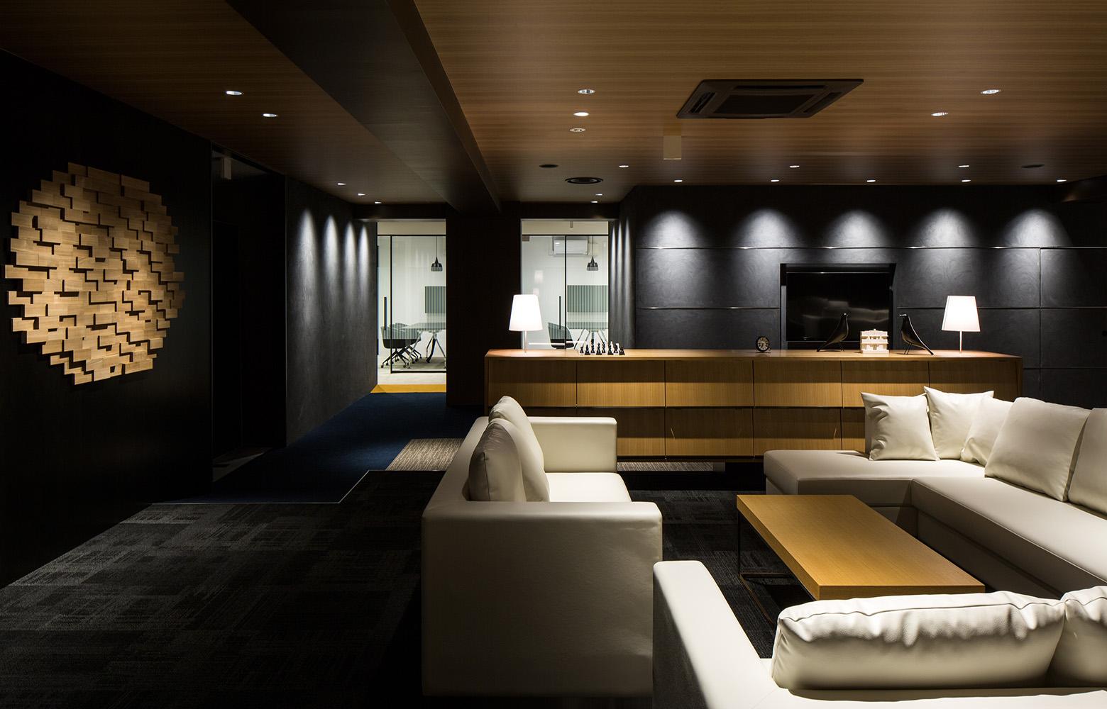 Secret Office Lounge_3 デザイン・レイアウト事例