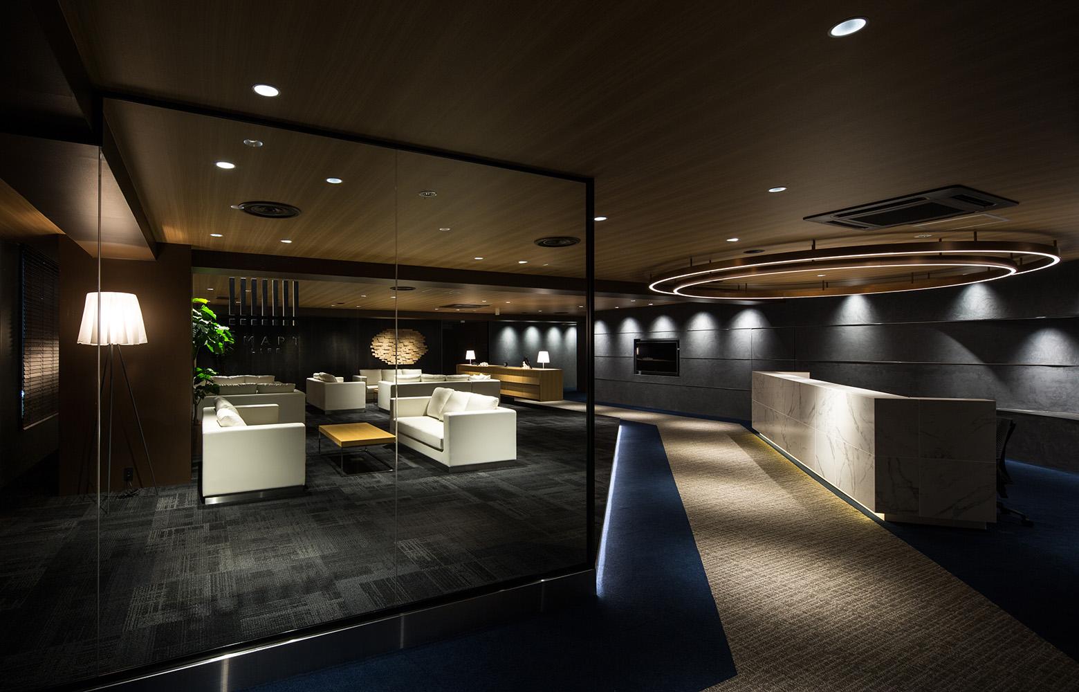 Secret Office Lounge デザイン・レイアウト事例