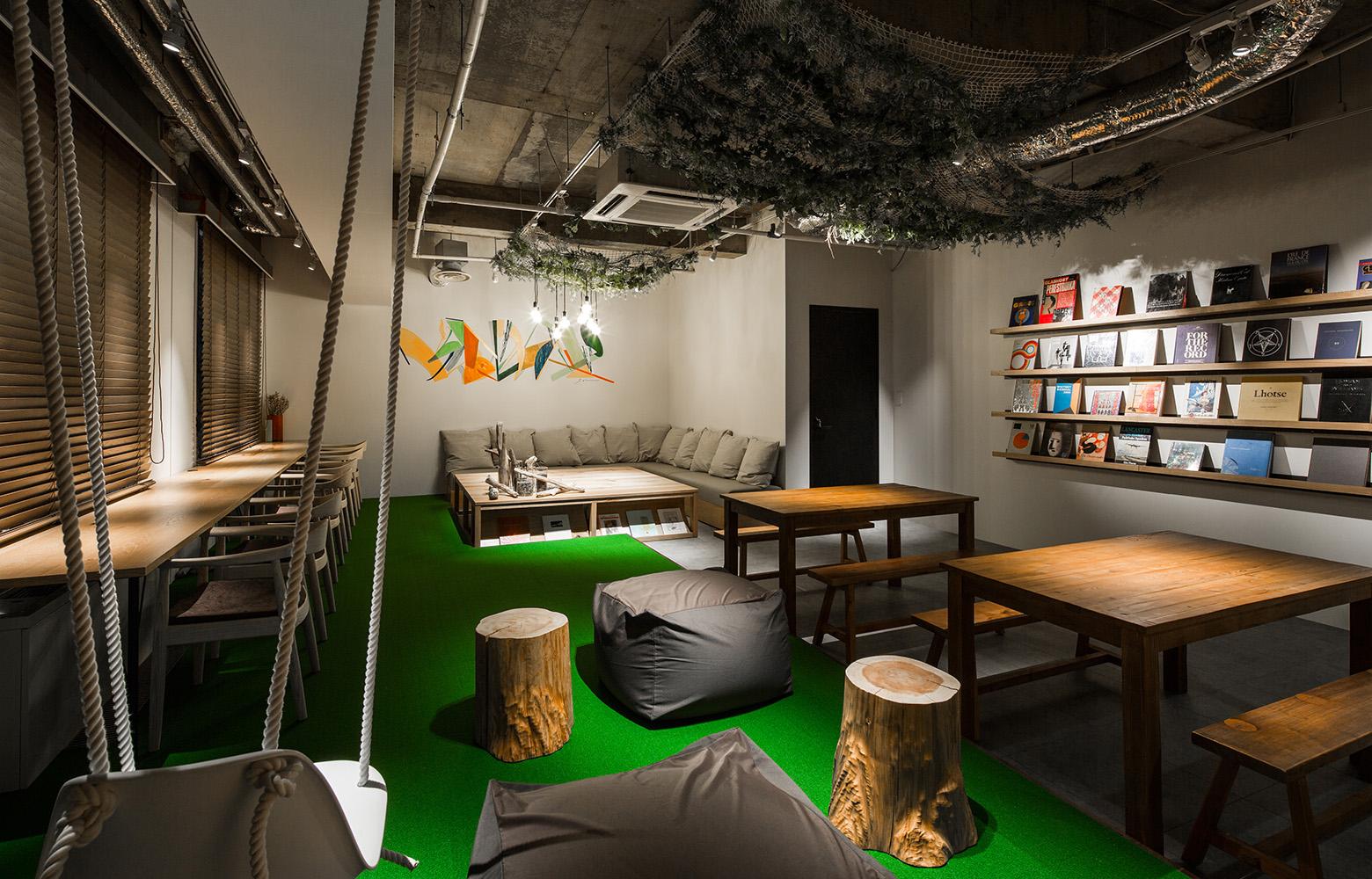 Secret Office Refresh Room デザイン・レイアウト事例