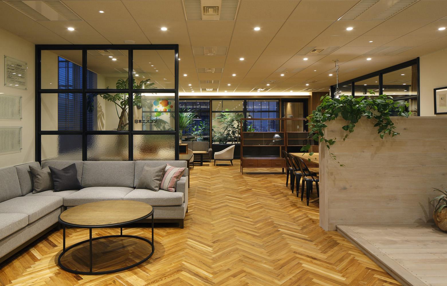 株式会社日本エスコン Lounge デザイン・レイアウト事例