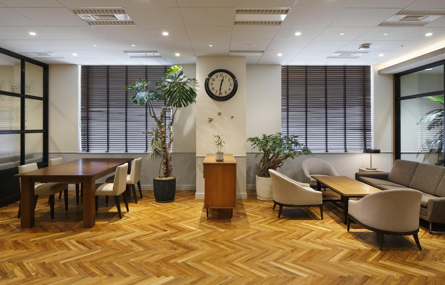 株式会社日本エスコン Lounge_2 デザイン・レイアウト事例