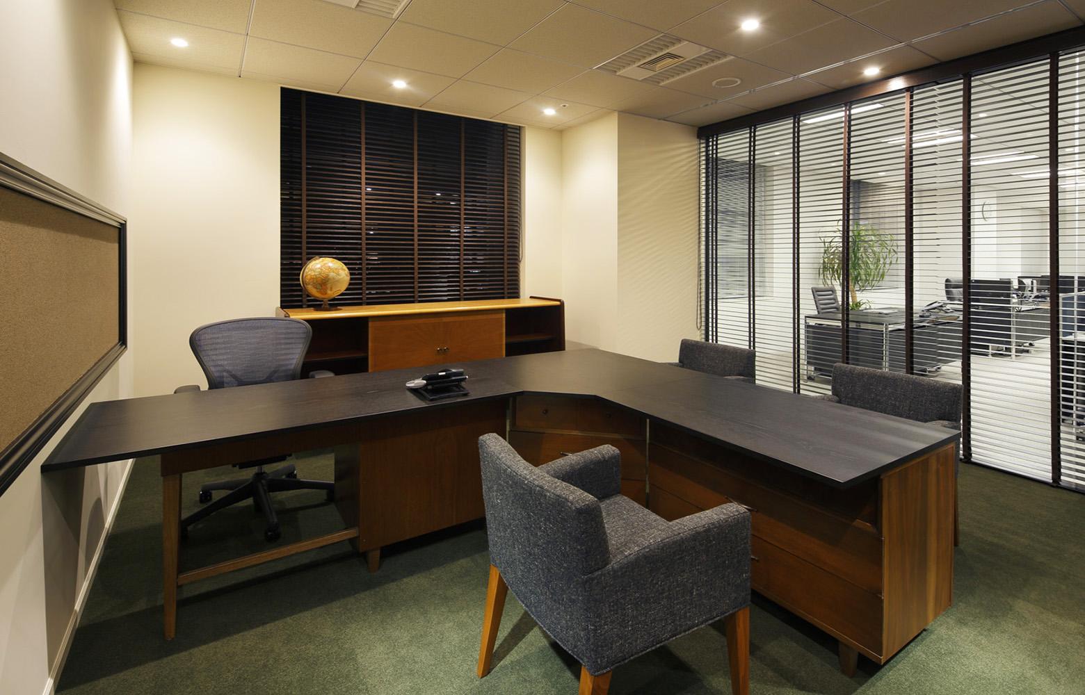 株式会社日本エスコン President's Room デザイン・レイアウト事例