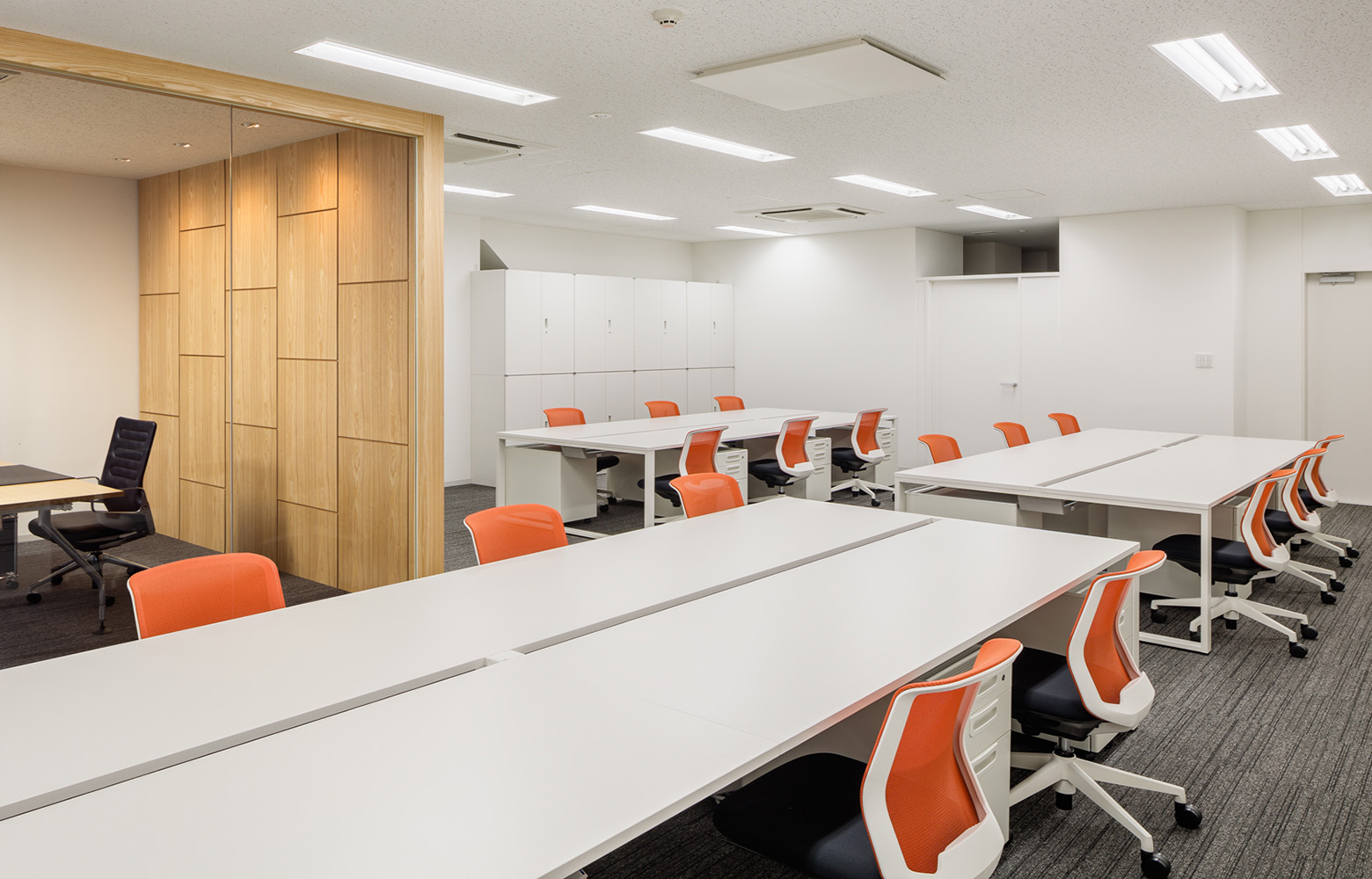 Company Private Work Space デザイン・レイアウト事例