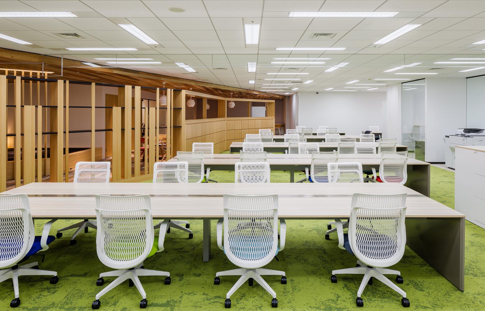 株式会社一蔵 Work Space_2 デザイン・レイアウト事例