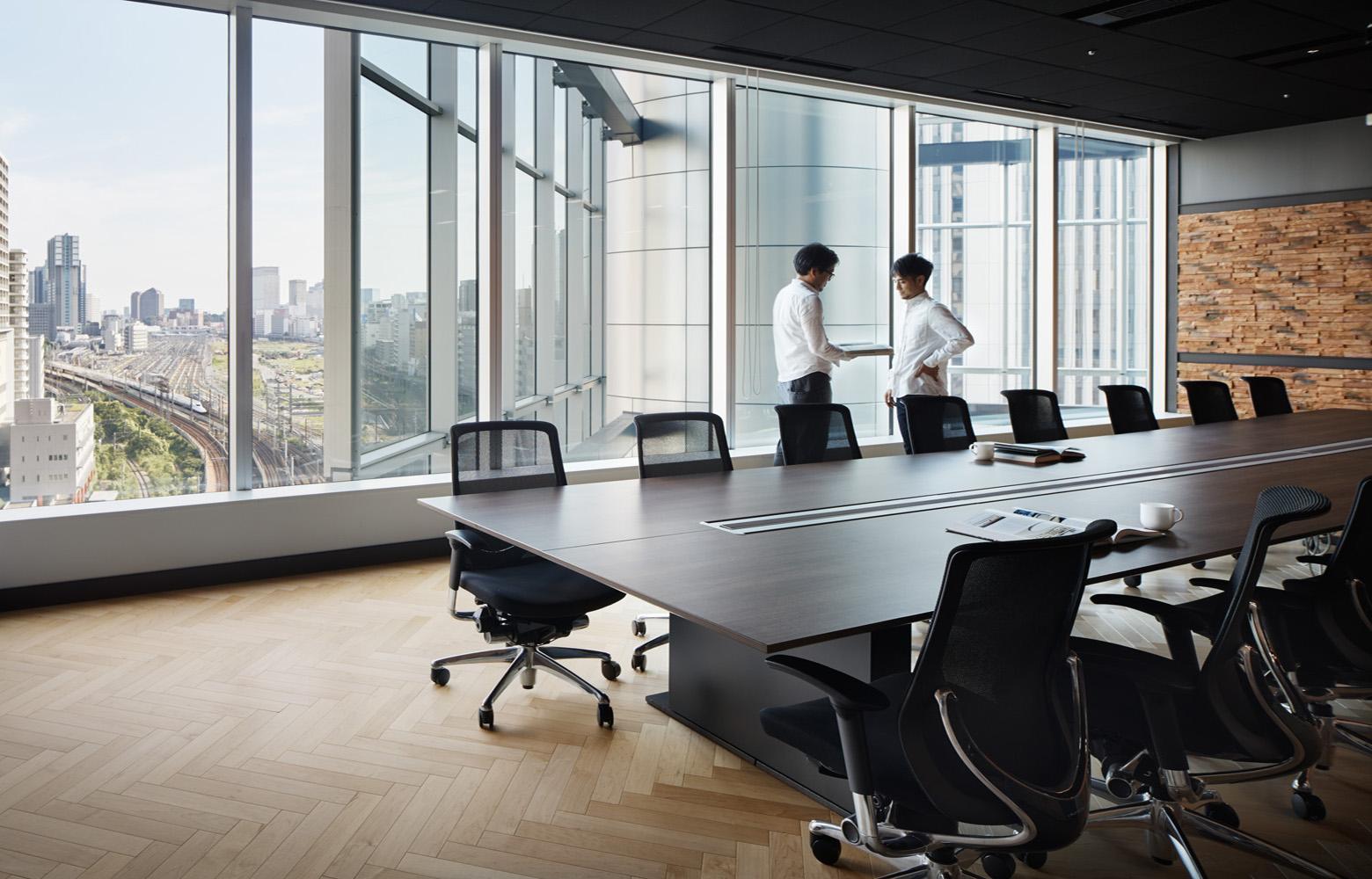 株式会社バンダイナムコオンライン Meeting Room デザイン・レイアウト事例