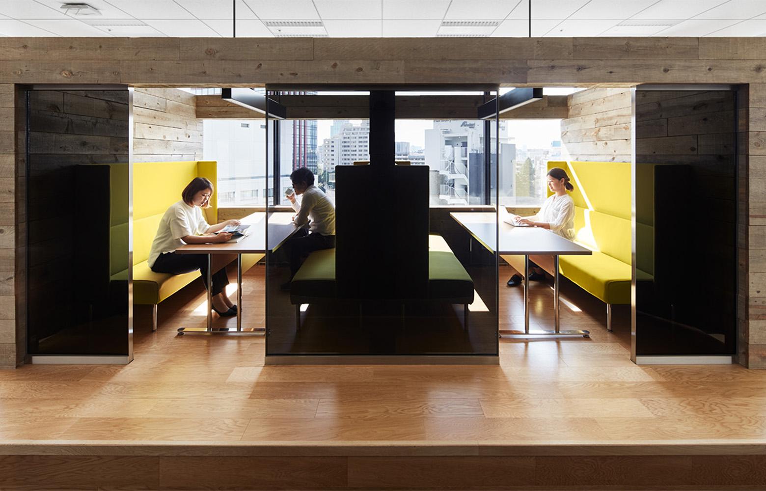 株式会社バンダイナムコオンライン Meeting Space_2 デザイン・レイアウト事例