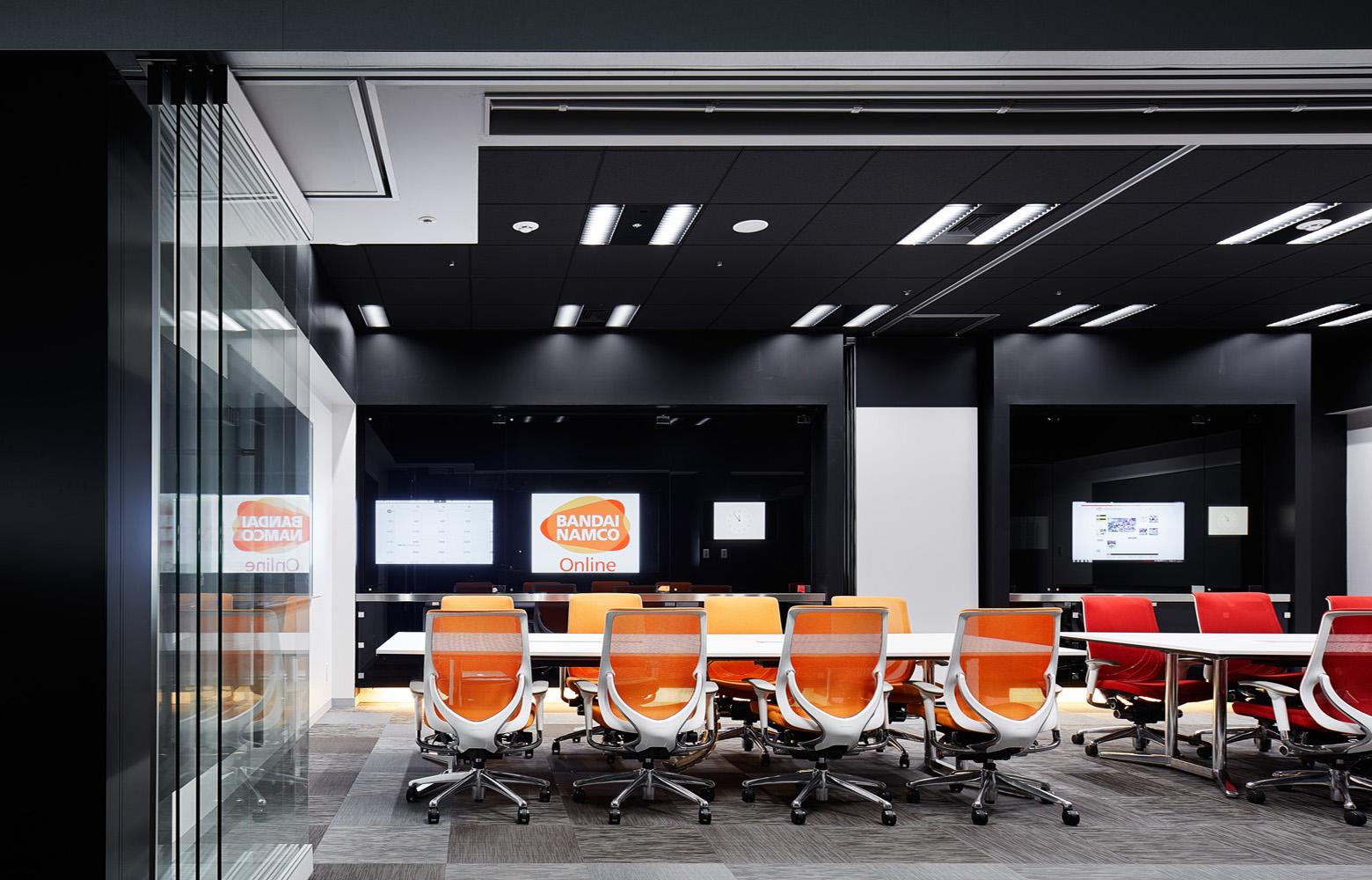 株式会社バンダイナムコオンライン Meeting Room_5 デザイン・レイアウト事例