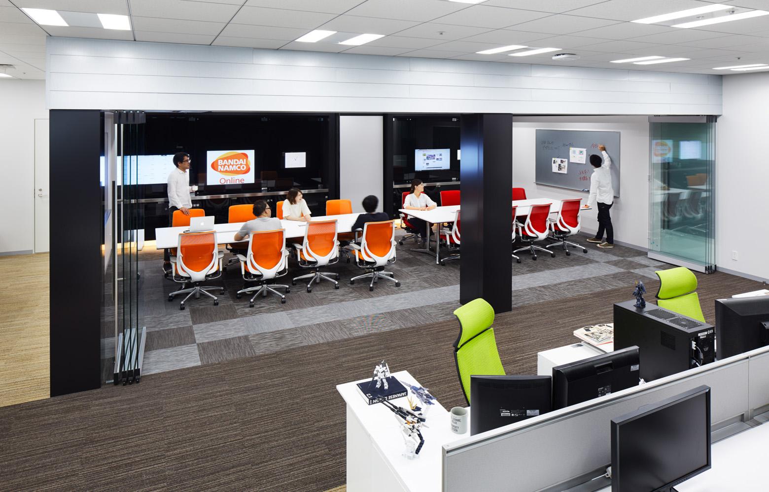 株式会社バンダイナムコオンライン Meeting Room_4 デザイン・レイアウト事例