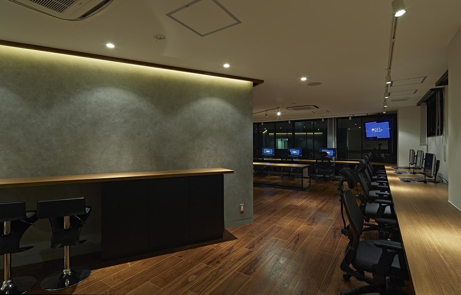 株式会社ギフト Work Space_3 デザイン・レイアウト事例