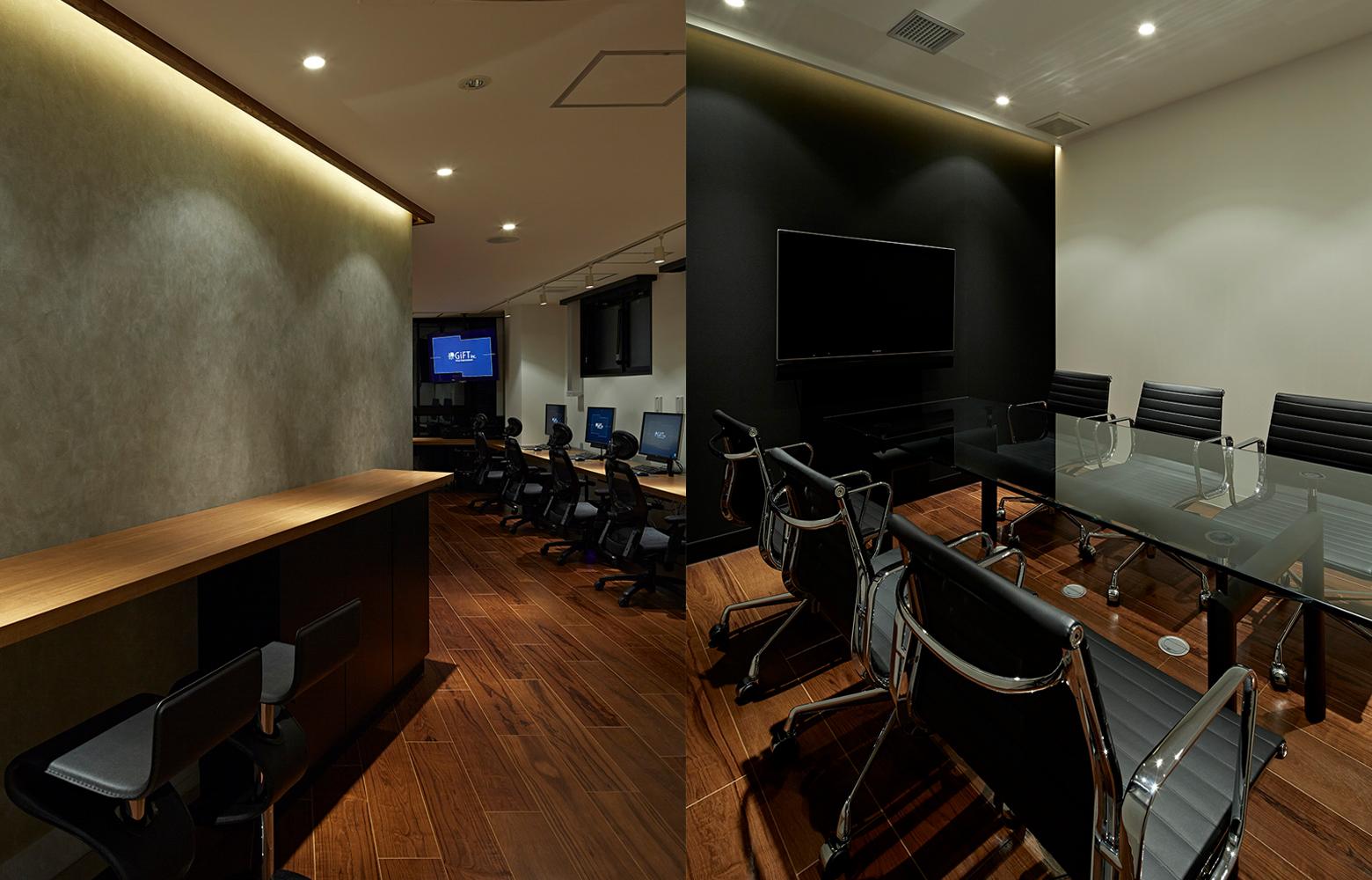 株式会社ギフト Counter & Meeting Room デザイン・レイアウト事例
