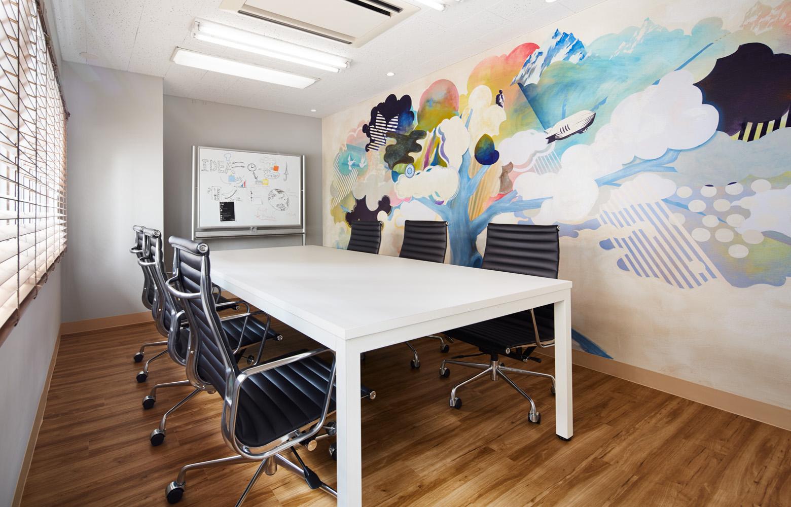 株式会社エクスプレス・エージェント Meeting Room デザイン・レイアウト事例
