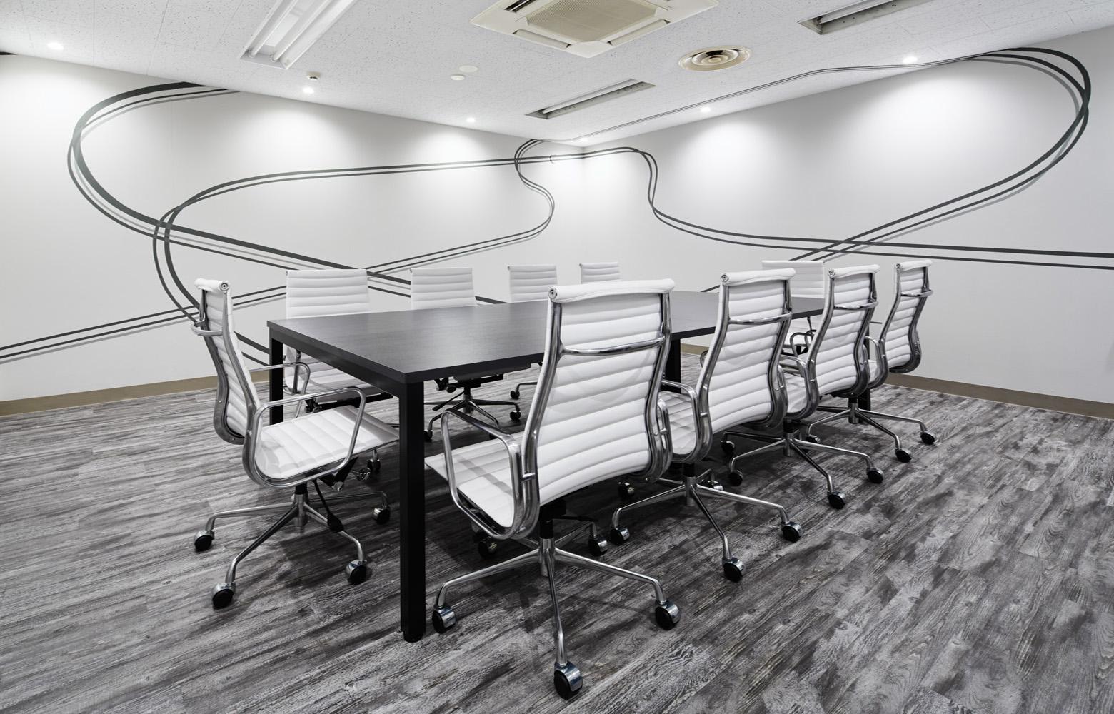 株式会社エクスプレス・エージェント Meeting Room_2 デザイン・レイアウト事例